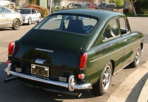 Clean San Diego Black-Plate 1968 VW Fastback    | Cars I've