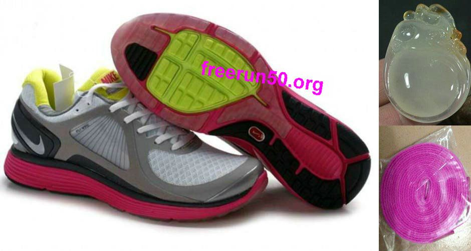 Damenns Nike Lunar Eclipse Gray Pink schuhe | Damenns Nike