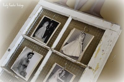For Ashes Old Window Frames Rustic Crafts Photo Displays