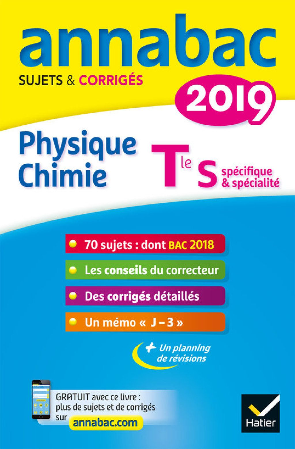 Annales Annabac 2019 Physique Chimie Tle S Ebook Math Book Review Blogs Good Books