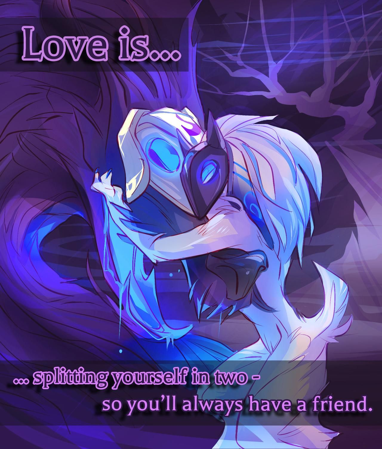 Lamb and Wolf (Kindred) Valentine <3 | Lol in 2019 | League of