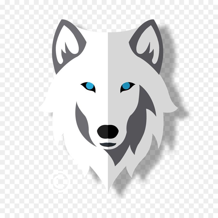 Gray Wolf Logo Painting Snout Wolf Creations Wolf White Serigala Abu Abu Lukisan Gambar Serigala