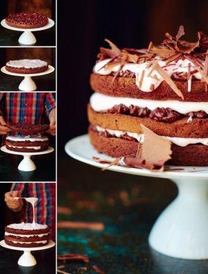 Recipe Jamie Olivers Chocolate Celebration Cake Celebration