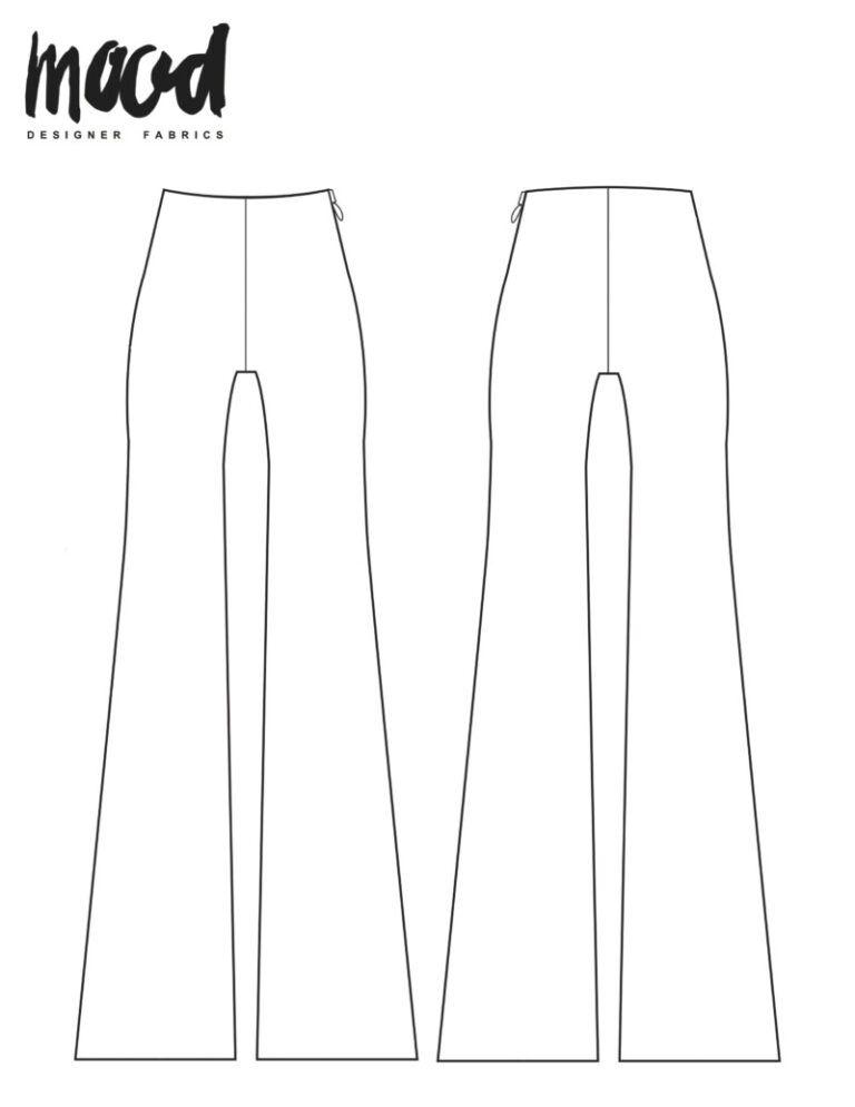 Jamesia Pants Redux - Free Sewing Pattern