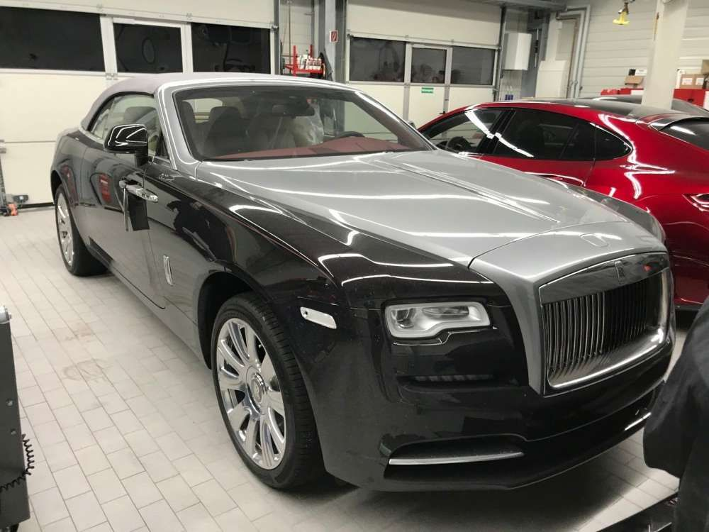 2018 Rolls Royce Dawn Cabriolet New Car Two Tone Color Wood Leader Tags Rollsroyce Twotone