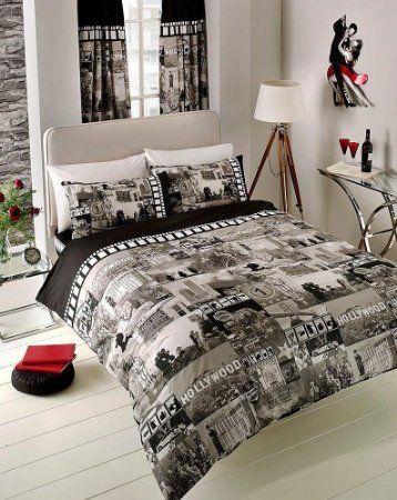 Luxury Designer Sleep Slogan Duvet Cover Sets Pillow Cases Single Double King