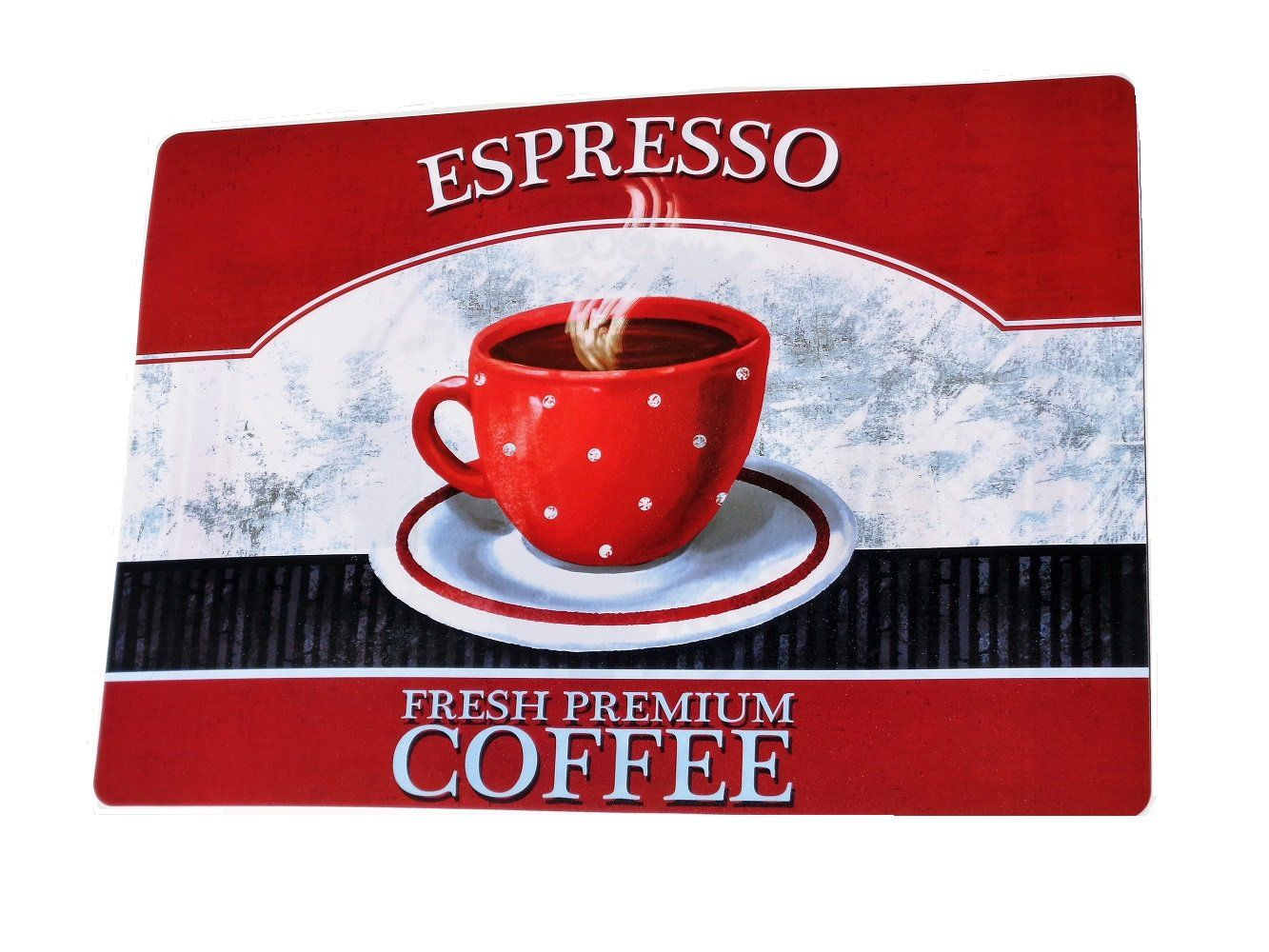 Espresso+Coffee+Cup+Kitchen+Placemats+Set $19.95 | Wake up & smell ...