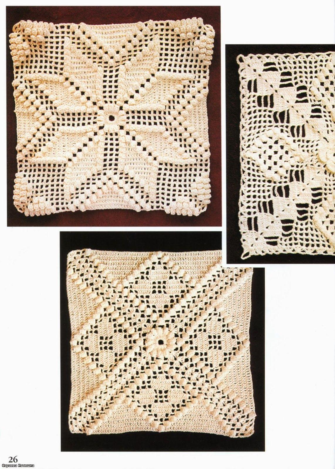 Crochet: VERY BEAUTIFUL PATTERNS FOR CURTAINS | muestras tejidas ...