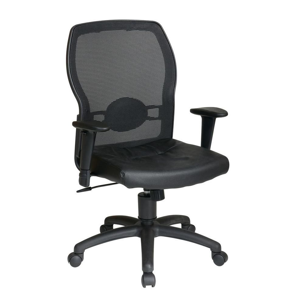 Office Star Products Black Office Chair 599402 Black Office
