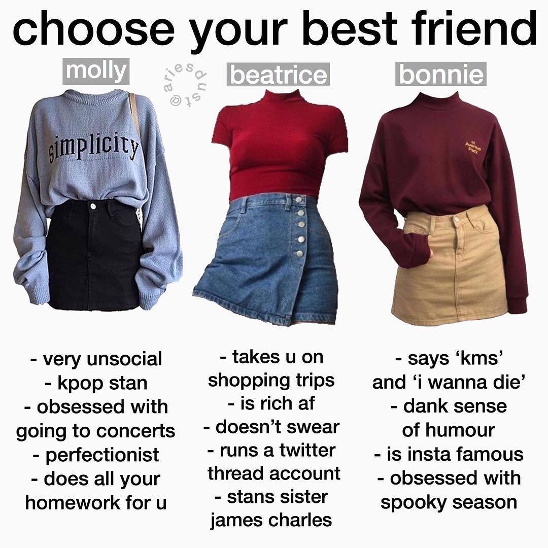 On Instagram Nichememes Memes Starterpack Starterpacks Meme Moodboard Tagyourself Niche Niche Types Of Fashion Styles Teenager Outfits Clothes [ 1080 x 1080 Pixel ]