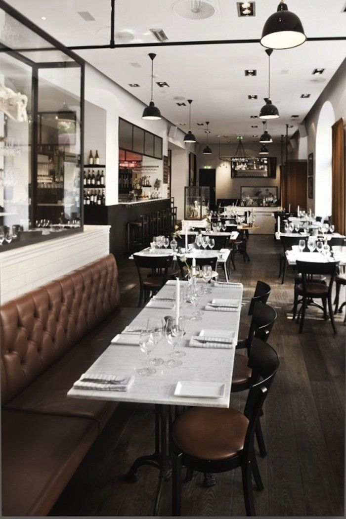 A Modern Bistro That Doubles as a Museum | rvc ideas | Decoration ...