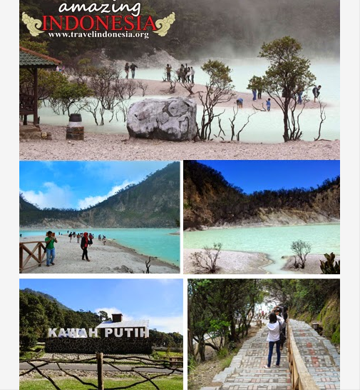 Indonesia Foundation Back To Bandung D Kecantikan Danau Kawah Putih Gu Danau Indonesia Beautiful