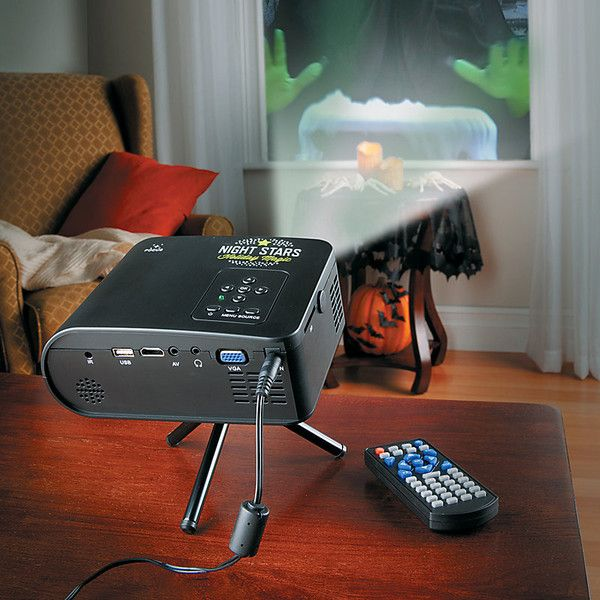 improvements virtual holiday projector kit 60 liked on polyvore featuring home home