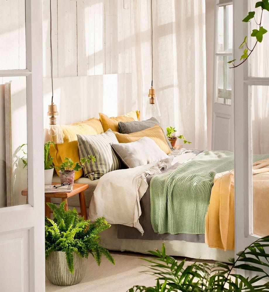 Green Bedroom Design, Bedroom