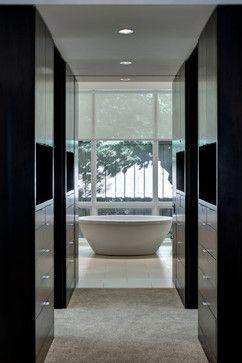 Lavendale Residence - contemporary - Bathroom - Dallas - Domiteaux + Baggett Architects, PLLC