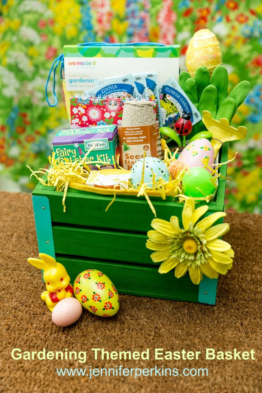 Gardening Themed Easter Baskets Jennifer Perkins