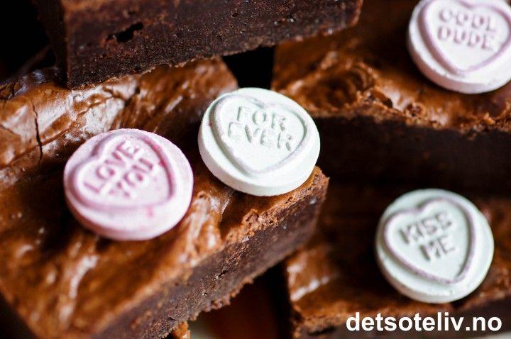 Amerikanske brownies | Det søte liv