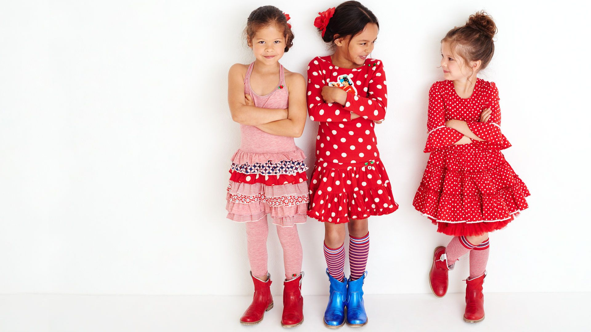 ole! gorgeous spanish inspired collection from mim-pi #ss2017 #mimpi #red #polkadots #dresses