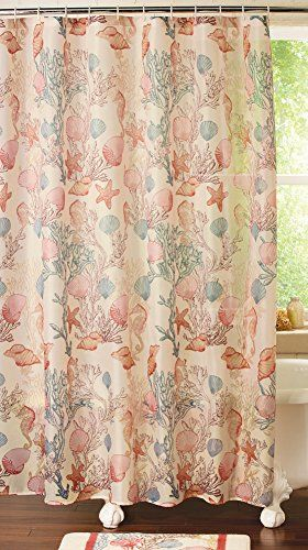 Robot Check Bathroom Shower Curtains Coral Bathroom Fabric