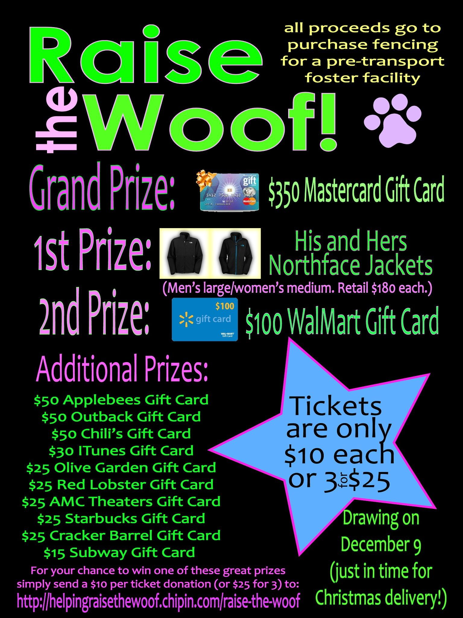 Awesome Fundraiser Going On Now I Am One Of The People In Charge So Buy Your Tickets W Animal Fundraising Animal Shelter Fundraiser Dog Rescue Fundraising