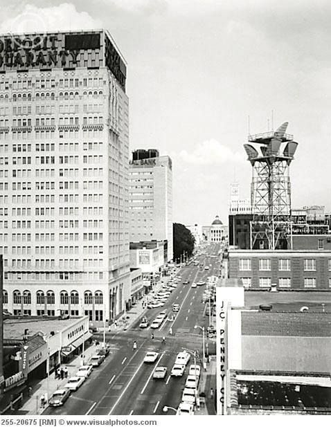 Downtown Jackson Ms Jackson Mississippi Old Pictures Jackson