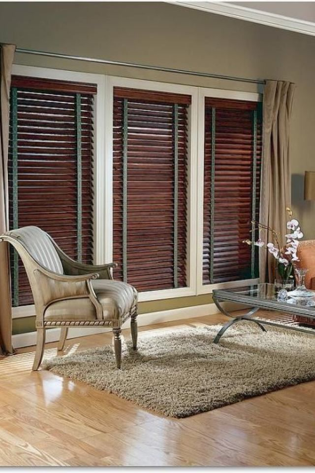 Game Store Blinds 4 Real Wood Blinds With Decorative Tapes Wood