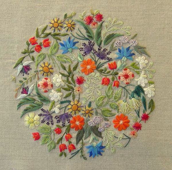 Floralies – French Needlework Kits, Cross Stitch, Embroidery, Sophie Digard – The French Needle