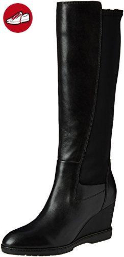Geox D Mendi Stivali B, Women's Ankle Boots, Brown (Dk Coffeec6024)