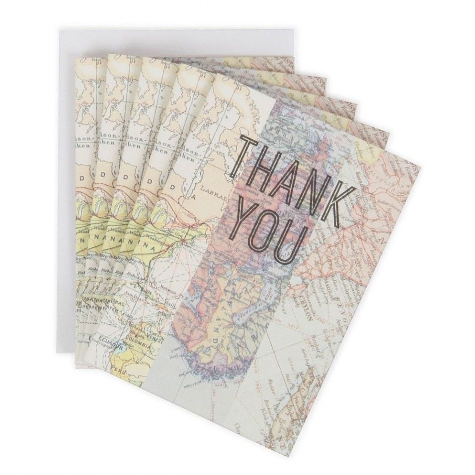 Map thank you card box paperchase 10 student discount wedding map thank you card box paperchase 10 student discount gumiabroncs Choice Image