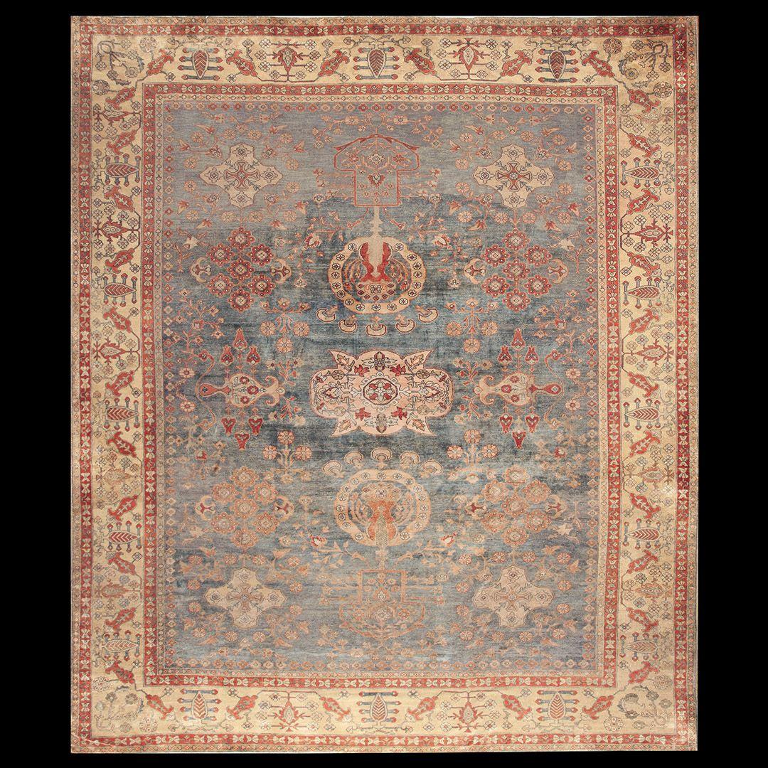 Malayer Rug - 18454 | Persian Informal 11' 0'' x 12' 8'' | Other, Origin Persia…
