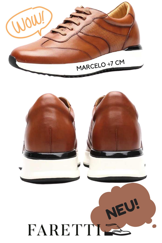 Schuhe Die Grosser Machen Marcelo 7 Cm In 2020 Schuhe Sportschuhe Sneaker Herren