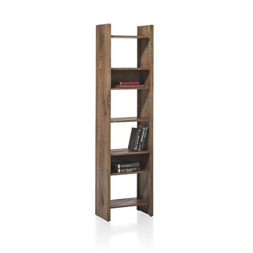 Regalwand eiche affordable wohnwand bcherregal vitrine for Massivholz kuchenmobel
