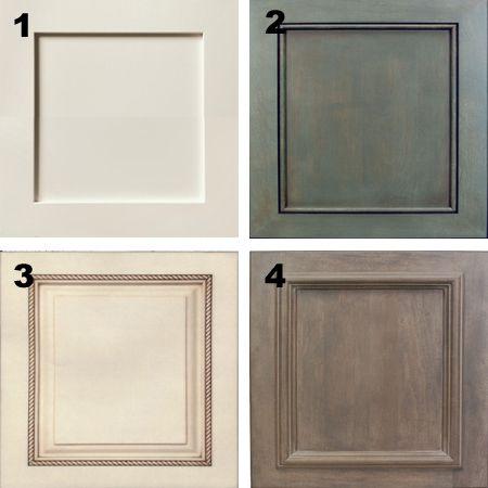 Plain White Melamine Kitchen Goes Coastal Door Trim Moulding Options Cabinet Doors Melamine Cabinets Kitchen Cabinets