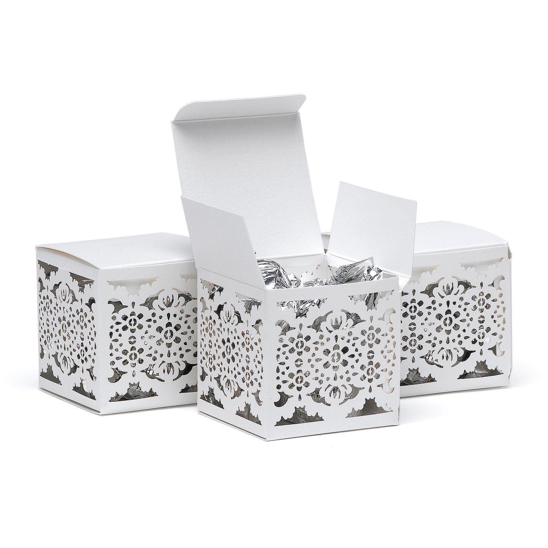 Lace+Laser+Cut+Favor+Box | Wedding Accessories | Pinterest | Laser ...