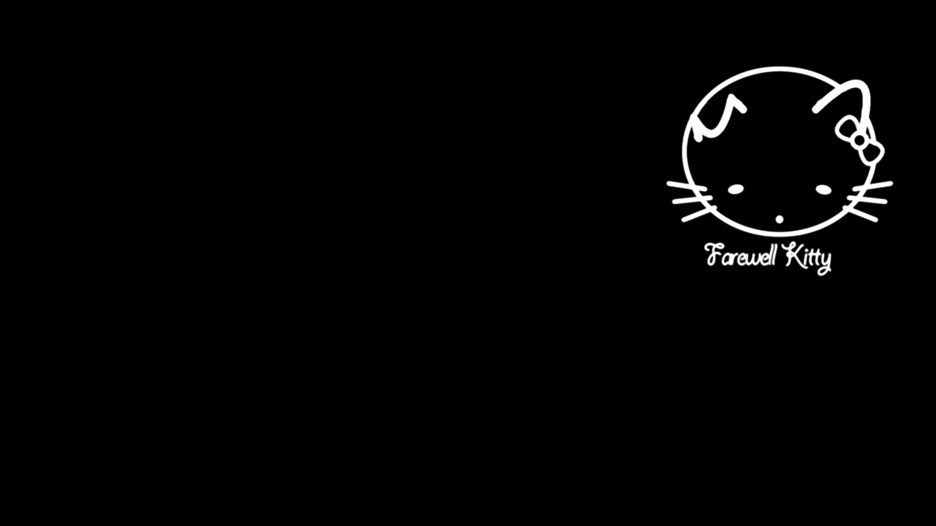 Black Hello Kitty Background 959 Hd Wallpapers In Cartoons