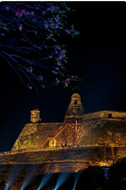 Castillo de San Felipe, Cartagena Colombia.