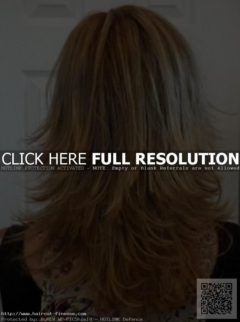 3 Layer Haircut Back View Haircuts Ideas