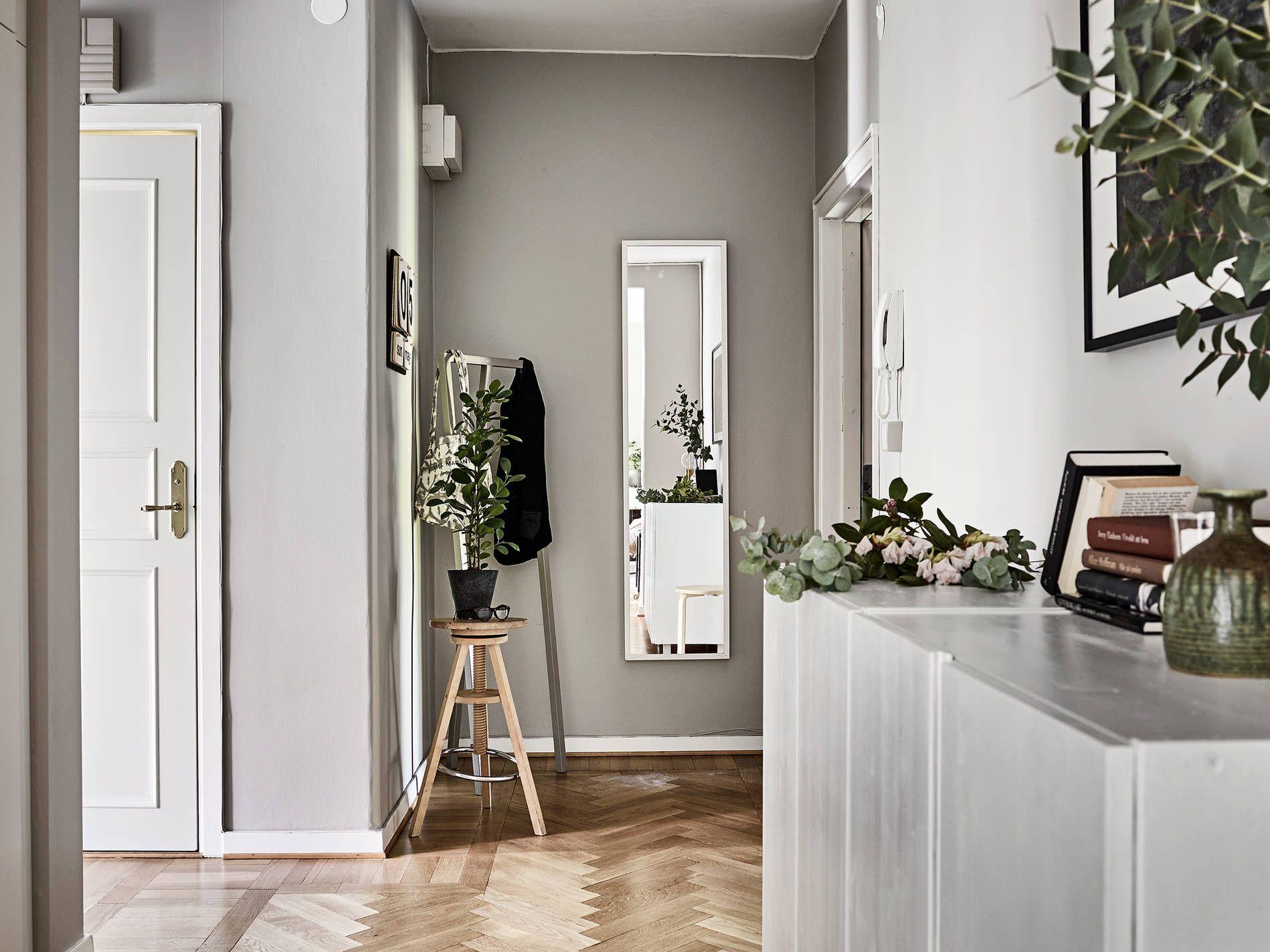 Hallway wall storage  Scandinavian interior design  interiors  Pinterest  Scandinavian