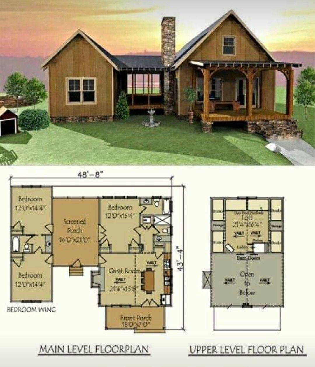 Pin By Melissa Hettick On Ideas For The House Shed House Plans House Blueprints Tiny House Cabin