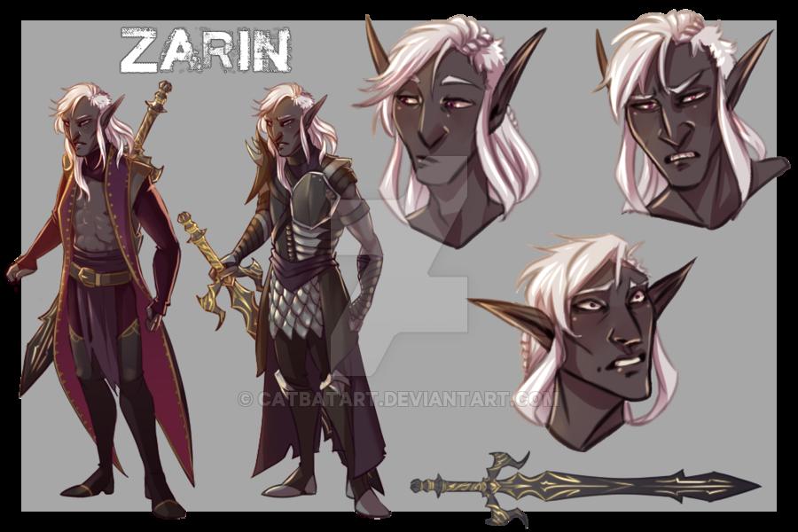 Dark elf armor matte sticker concept art