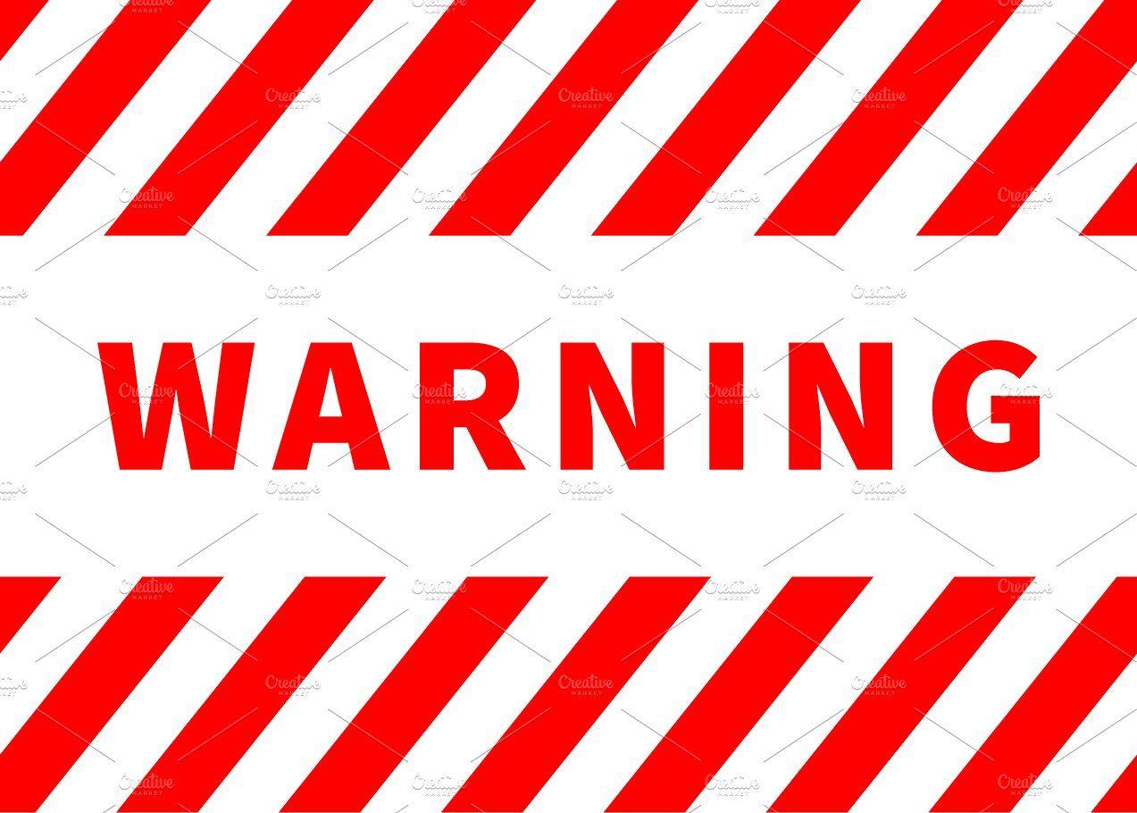 Warning Plate Red Danger Sign Danger Sign Signs Fb Background