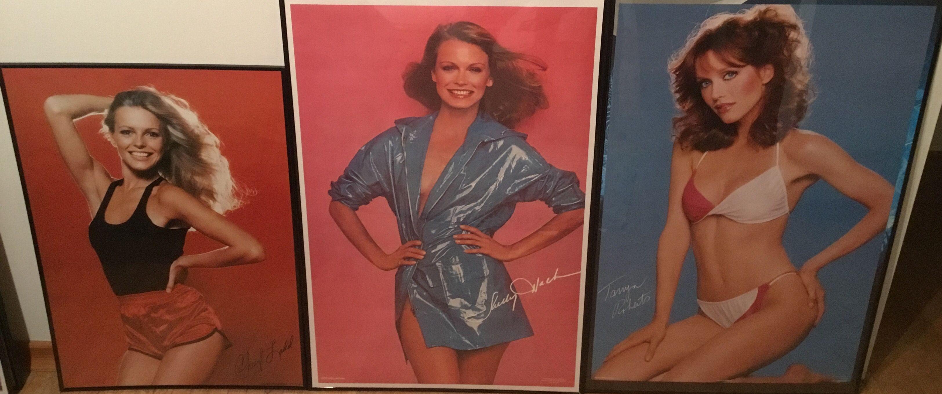 Charlie's Angels Cheryl Ladd Shelley Hack Tanya Roberts posters