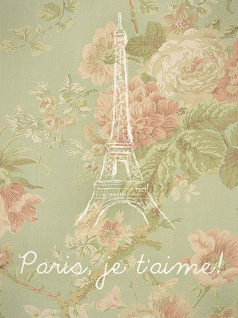Pink Vintage And Paris Image On We Heart It