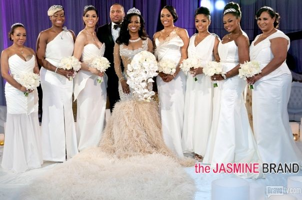 Kim Zolciak Wedding Bridesmaids