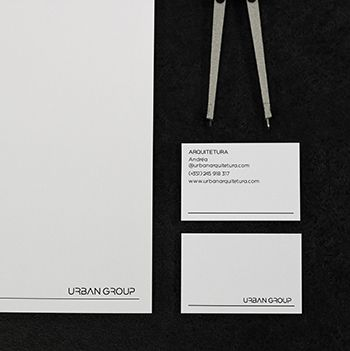 Urban Arquitetura - Business Cards and Letterhead.
