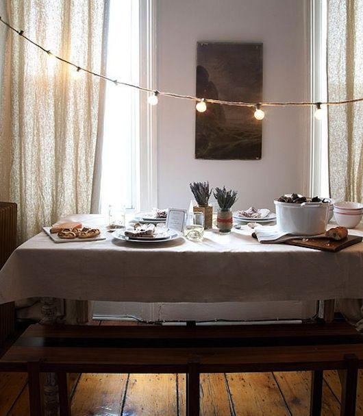 5 suggestions pour pimper ta salle à manger pour tes soupers d