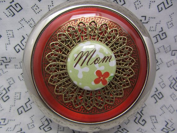 Compact Mirror Gift For Mom Mothers Day Gift Comes With Protective Pouch