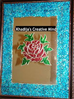 Creative Mind Khadija   Glass Paint & Calligraphy