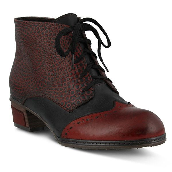 Multi Leather Ankle Boot Style Name: GRANOLA-3 Colors