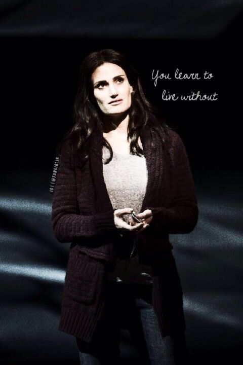 You learn to live without... (If/Then).